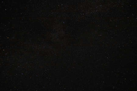 Starry sky in the dark of August night. Very nice background.