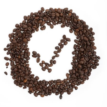 coffees: Its OK on a white background