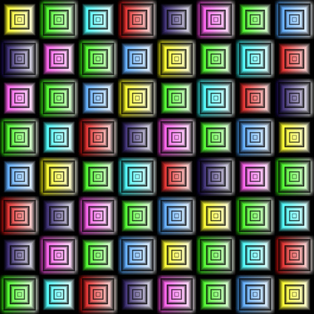 diagonals: Abstract seamless pattern. Checkered colored background. Vector illustration