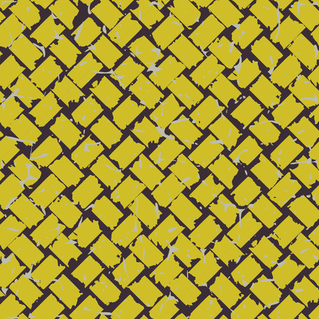 coloured: Seamless coloured decorative grunge pattern. illustration Illustration