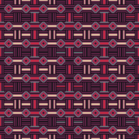 diagonal stripes: Abstract colored geometric seamless pattern. Vector illustration