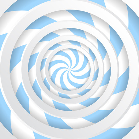 Abstract spiral background. Optical illusion. Vector illustration