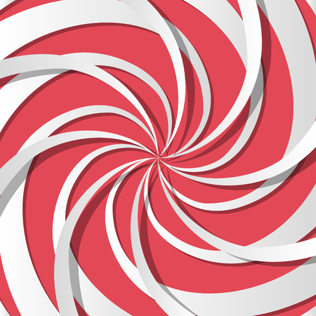 Abstract spiral background. Optical illusion. Vector illustration Stock Vector - 88534888