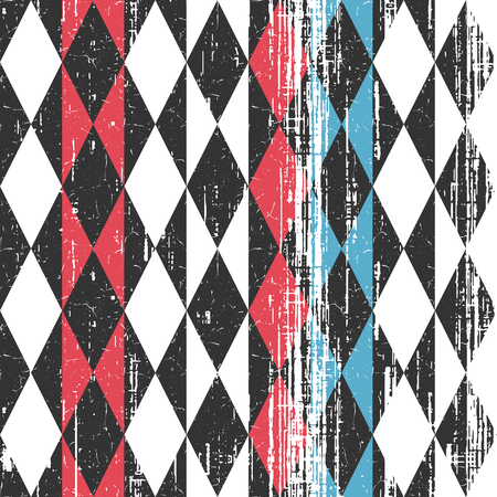 Colored geometric pattern. Illustration