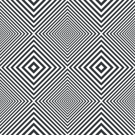 Optical illusion. Abstract striped background. Vector illustration Stock Illustratie