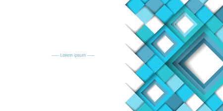 Abstract geometric background with rhombuses. Vector illustration Foto de archivo - 99839585