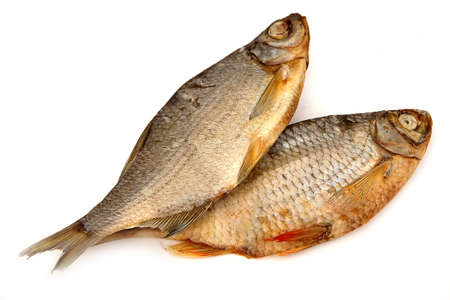 Dried fish - food for many people of the different countries of the World. photo