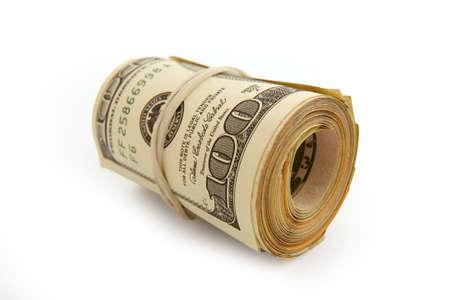 Roll of money Stock Photo - 9528144