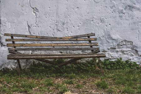 Lonley broken bench