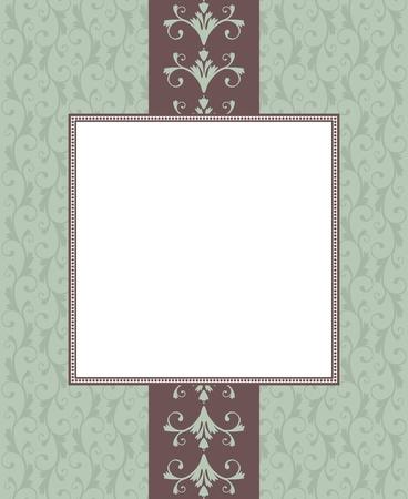 шик: Приветствие шаблонов карт в винтажном стиле. Элементы группируются и слоистой для удобного editng.