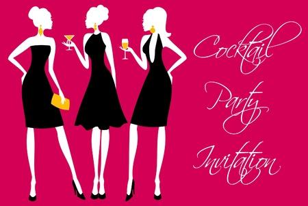 Invitation pour une des filles