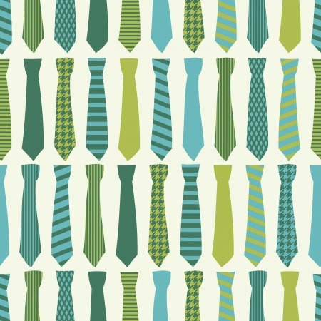 Seamless pattern con cravatte