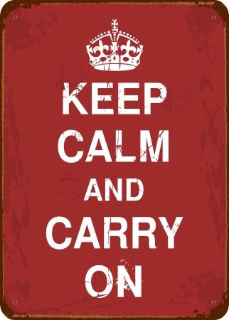 Gardez le calme et Carry On signe l'étain millésime