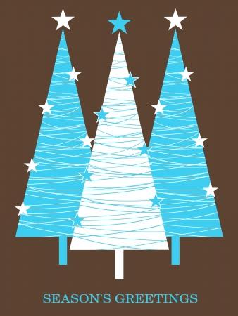 Christmas greeting card design. Stock Vector - 14125933