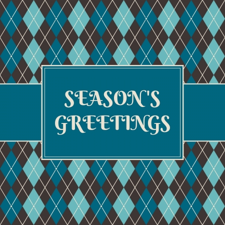 Christmas greeting card design. Vector