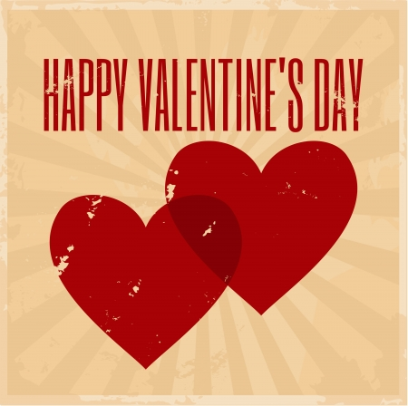 Valentine s Day Greeting Card Stock Vector - 17279065