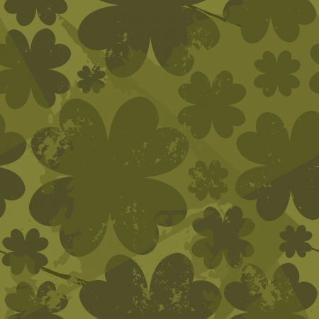 Grungy St. Patrick's Day seamless pattern. Stock Vector - 17688904