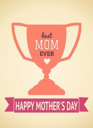d�a s: Dise�o de tarjetas de felicitaci�n para el d�a de la madre s