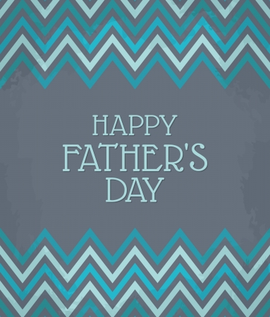 Vintage Father s Day card Stock Vector - 18979864