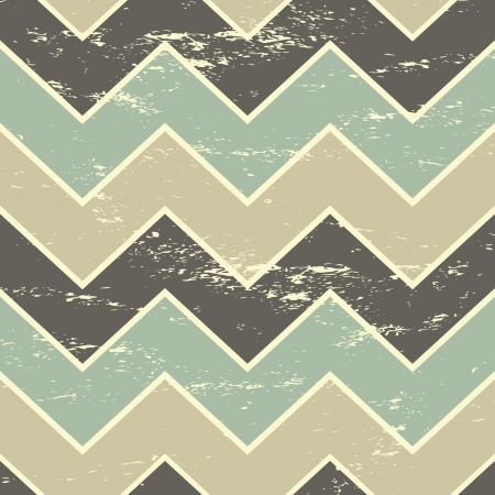 Vintage style seamless chevron pattern in pastel colors  Vector