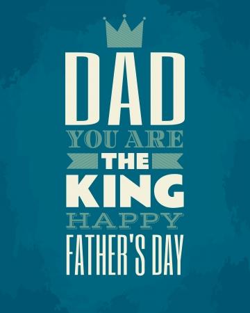 d�a s: Plantilla de tarjeta de felicitaci�n para el D�a del Padre s
