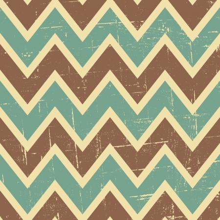 chevron seamless: Seamless chevron pattern in blue, brown and beige