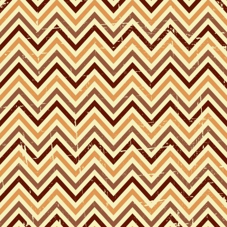 Seamless chevron pattern in beige and brown  Vector