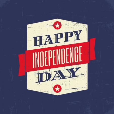 미국의 독립 기념일에 대 한 지저분한 포스터