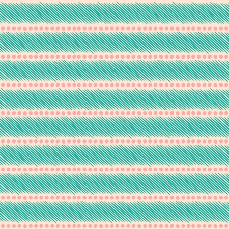 Seamless ethnic pattern in pastel pink an blue. Stock Vector - 22162978