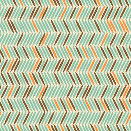 zigzag: Seamless ethnic style zig-zag pattern in blue, orange ad brown.