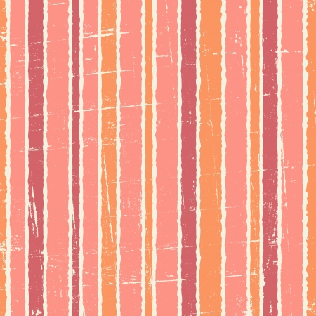 vertical: Seamless abstract pattern with vertical lines in pastel pink, orange and red.