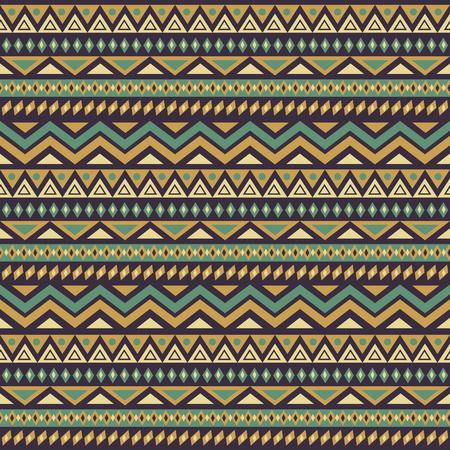 motive: Nahtlose Muster mit bunten ethnischen Motiven. Illustration