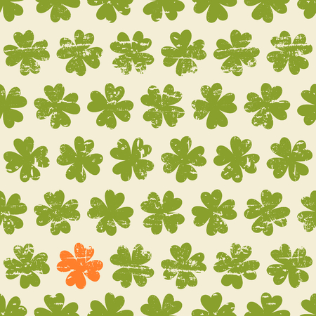 st patty day: Seamless vintage pattern for St  Patrick Illustration