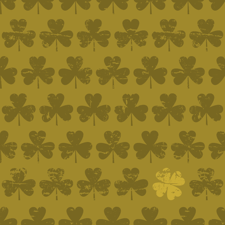 Seamless pattern for St  Patrick Vector