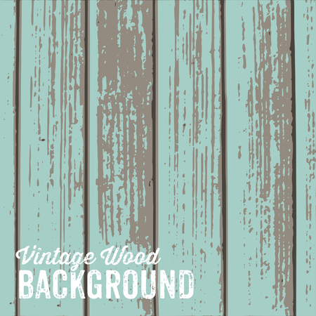 Old wooden texture background with pastel blue paint.
