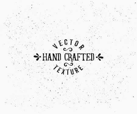 Subtle vintage texture in black and white. Vector textured effect. Retro style insignia design.
