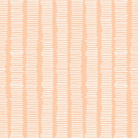 lineas blancas: Dibujado a mano abstracta patr�n de repetici�n sin fisuras con l�neas blancas en rosa pastel de fondo.