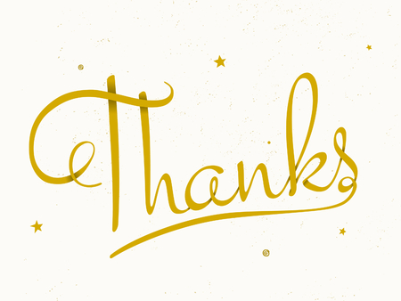 thank you note: Printable typographic design card for Thanksgiving Day. Modern and elegant Thank You note.