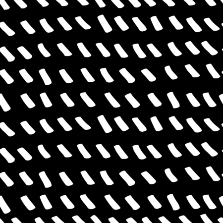 Abstract seamless repeating pattern in black and white. Hand drawn lines texture, ink scribbles tiling background.