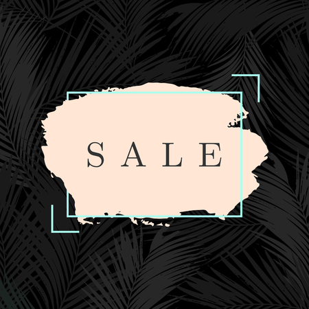 gray: Modern and stylish sale poster, sale brochure, discount offer design.