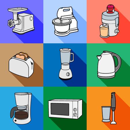 Kitchen appliances icon.