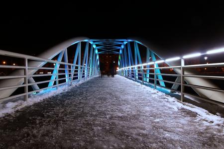 Ice bridge photo