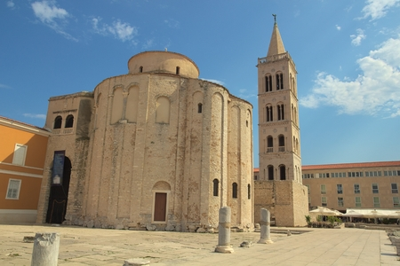 Church of St.Donat in Zadar. photo