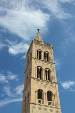 Belfry on Church in Zadar. photo