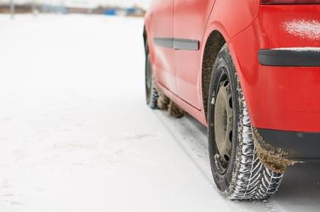 cornering: Modern winter tyre