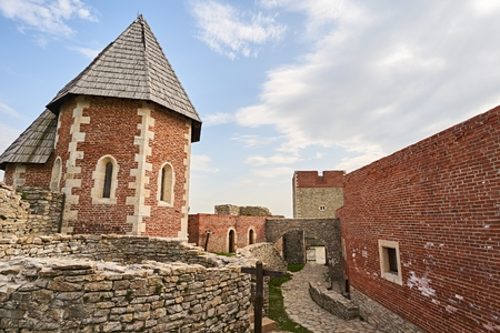 Castle Medvedgrad in city Zagreb