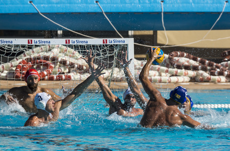 piscina olimpica: WATERPOLO: MATARO vs BARCELONETA