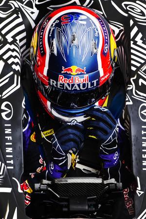 team lotus: Driver Daniil Kvyat. Team Lotus. Formula One Test Days of pre-season 2015 at Circuit de Barcelona-Catalunya. Montmelo, Spain.