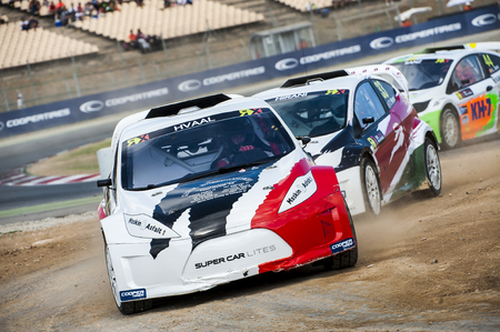 catalunya: Hvaal at FIA WORLD CHAMPIONSHIP RALLYCROSS That celebrates Barcelona at Circuit de Catalunya on 19-20 September 2015 in Barcelona, Spain.