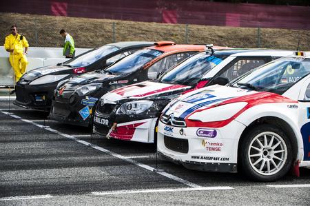 fia: FIA WORLD CHAMPIONSHIP RALLYCROSS That celebrates at Circuit de Catalunya Barcelona on 19-20 September 2015 in Barcelona, Spain. Editorial